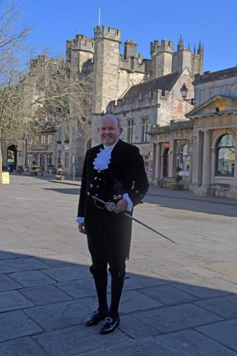 Johnnie Haliday - High Sheriff